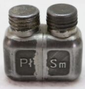 Mosin Nagant Polish Ptsm Oil Bottle Or Solvent With Two Chambers Used Each E8315