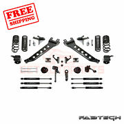 Fabtech 7 Radius Arm Sys W/ Coil Springs And Frontandrear Shocks For 14-17 Ram 2500