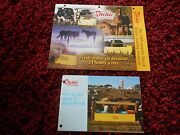 Vintage Lot 2 Ritchie Livestock Hog Waterer Fountain Brochure Ads Cattle Pigs