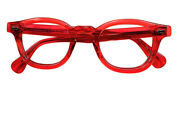 Dreaming Look Gem Red Glasses 1980s Hand Made In Usa Dead Shady James Dean