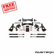 Fabtech 6 Rts System W/ Stealth Shocks For 2011-17 Gm K2500hd 2wd/4wd