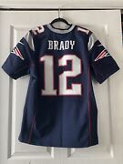 Authentic Tom Brady Nike Elite Patriots Jersey Mens Size44 Nwot Sold Out