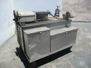 Ridgid Model No. 400a Pipe Maintenance Cart With Vice And Tooling And Dies Etc..