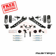 Fabtech 7 Radius Arm Sys W/coil Springs And Frontandrear Shocks For 14-17 Ram 2500