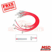 Msd Spark Plug Wire Set Fits With Ford Falcon 1970
