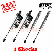 Fox Shocks Front 4-6 And Rear 6-8 Lift For Ford F450 Cab Chassis/utility 05-07