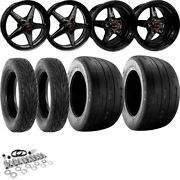 Race Star Wheels 92-b-s550-k Big Meats Wheel And Tire Kit 2015-2019 Ford Mustang