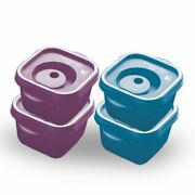 Tupperware Crystalwave Container 275ml 4pc Just Put It Into The Fridge And Have