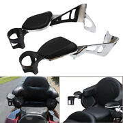 Rear Passenger Arm Rests With Drink Holder For Harley Touring Tri Glide 14-21