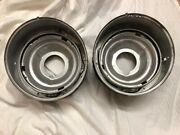 Mercedes 300 W186 Adenauer Oem Nos Headlight Housings Wrapped In 1970s Newspaper