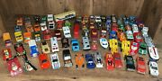 Lot Of 78 1970's And 1980's Matchbox Cars Hot Wheels Kenner Die-cast Vehicles