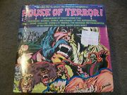 House Of Terror 2 Lp Book And Record Monster Halloween Dracula Pa103 Sealed Shrink