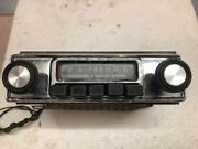 Motorola Vintage Stereo W/ Chrome Face Plate Oem On Many Classic 1960s Cars...