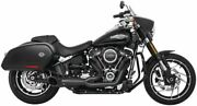 Freedom Performance Turnout 2-into-1 Exhaust Black - Hd00812