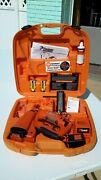 Paslode Cordless 16 Gauge Angled Finish Nailer With Charger + Battery + Fuel ++