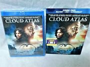 Cloud Atlas Combo Pack Blu-ray Dvd Ultraviolet With Slip Cover Factory Sealed
