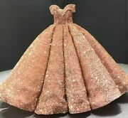 Ball Gowns Sexy Dresses Sequined Sweetheart Off Shoulder Empire Sleeveless Tulle