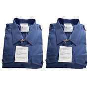 Pack Of 2 Menand039s Rn Royal Navy Fr Working Dress Shirts - Sizes British Military