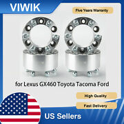 4pcs 3 Thick 6x5.5 Wheel Adapters Spacer For Lexus Gx460 Toyota Tacoma Ford