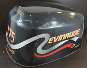 439566 Johnson Evinrude 1998 Ficht Faststrike Cover Hood Cowling 150 175 Hp