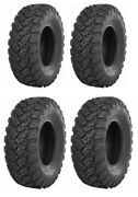 New Complete Set Of Maxxis Ceros Tires - 2015 Arctic Cat Wildcat 4x Limited Eps