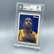 2009-10 Bowman 48 James Harden 104 Psa 9 Serial Numbered /2009 Rookie Year Rare