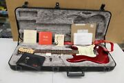 American Original Series 60and039s Stratocaster Serial V Serial Number W/case +paper