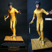 China.x-h Bruce Lee Game Of Death Tribute Statue 1/6 Resin Painted In Stock