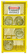 Egcc8-50 - Econ Gas Cyl Cab - 8cyl - No.50 Yellow - Pack Of 1
