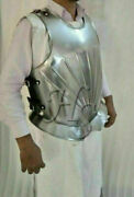Roman Muscle Body Armor Medieval Knight Front And Back Cuirass Costume