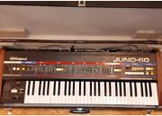 Roland Juno-60 Keyboard Synthesizer From Japan Used