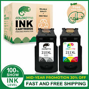 Combo Ink Cartridges Compatible For Canon 210 Xl 211 Xl Mp Mx Ip Series Printer