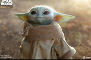 Baby Yoda/grogu The Child Sideshow Collectibles Star Wars. Brand New