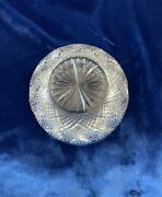 4 Quantity 5 Inch Antique Waterford Crystal Bowls