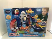 Vtech Go Go Smart Wheels Blast-off Space Station Play Fun 40+ Songs New In Box