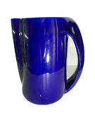 Elsa Perretti Water Pitcher/deep Cobalt Blue/made In Italy.gorgeous