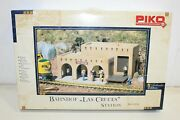Piko G Scale 1/22.5 Las Cruces Train Station Building Kit 62252 Sealed