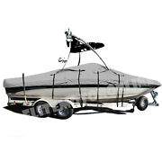 Tige Pre 2000 Wt With Wakeboard Tower Trailerable Storage Fishing Ski Boat Cover