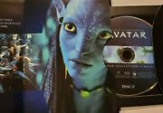 Avatar Dvd 3-disc Set, Extended Collectors Edition James Cameron Look Great Pics