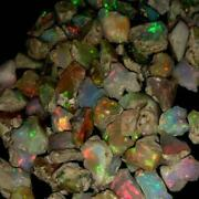 Play Of Color Ethiopian Fire Opal Rough Lot 100 Natural Gemstones 200cts