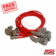 Msd Spark Plug Wire Set Compatible With Chevrolet 69-1972