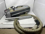 Electrolux Silverado 1505 Deluxe Canister Vacuum Cleaner W/ Hose And Attachments