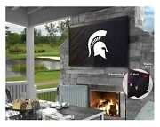 Michigan State Spartans Hbs Breathable Water Resistant Vinyl Tv Cover