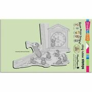 Stampendous House Mouse Teacher Time Cling Mount Stamp Retired Hmcr96 School