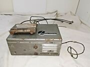 1940and039s Philco Ar-55 Universal Am 6 Volt Radio With Control Head And Cables -m334