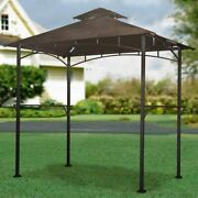 Sunjoy 110109187 Replacement Canopy Set For Led Lighted Grill Gazebo L-gg001pst-