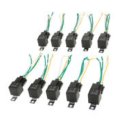 Car Automotive 24v 40a Amp Spst Relay And Socket Harness 5 Pin 4 Wire