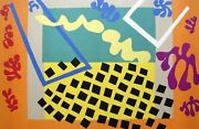 Henri Matisse Les Codomas 1951 Hand Signed Lithograph From 'jazz'