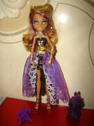 Rare Monster High Clawdeen Wolf Doll 13 Wishes Haunt The Casbah