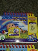 Leap Frog My First Leap Pad Lot Of 4 Flip Books And 4 Cartridges 1s
